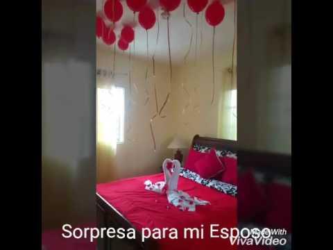 sorpresa para mi esposo en nuestro 6to aniversario de On sorpresas para aniversario de novios