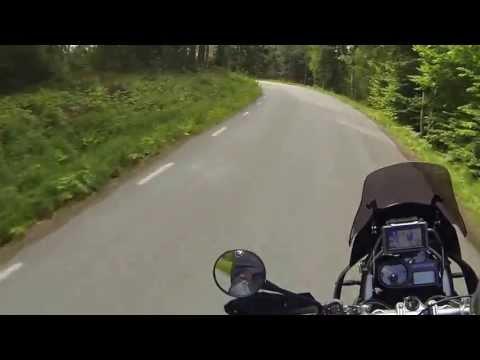 Brudfjällsvägen, Dalsland, R1200GS