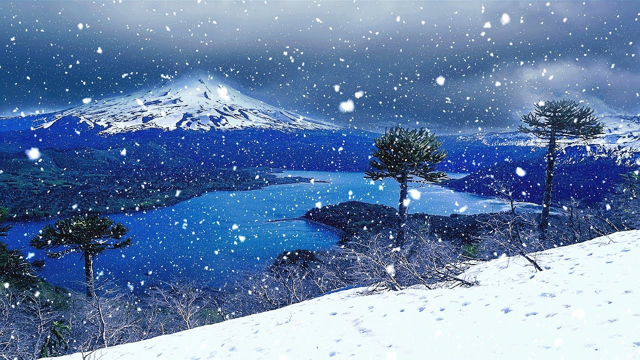 Snow falls, now comes the chill