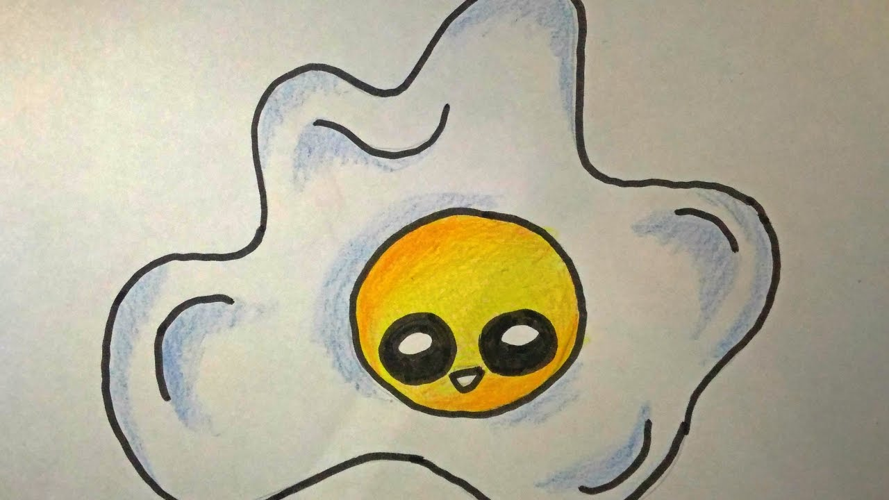 Desenhos Tumblr De Mão Estalando Como Fazer: DESENHOS FACEIS DE FAZER COMO DESENHAR UM OVO FOFO