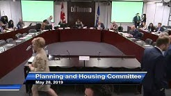 Planning and Housing Committee - May 28, 2019