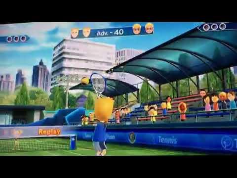"Wii Sports Club: Tennis w/JacobTheAlbino ""Your hacking"""