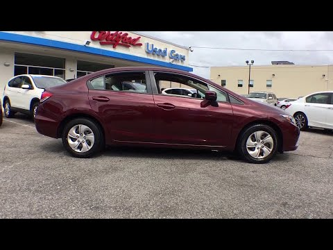 2015 Honda Civic White Plains, New Rochelle, Westchester, Scarsdale, Greenwich, NY U22975L