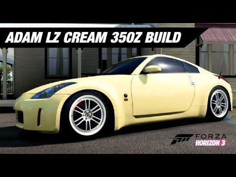 Adam Lz Cream 350Z Build - Forza Horizon 3