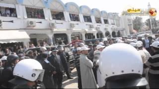 """قوات """"السيمي"""" تتمكن من إفشال مسيرة إحتجاجية للجنة المشتركة للدفاع عن المعتقلين الإسلاميين"""