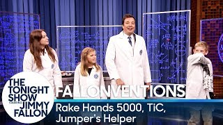 Fallonventions: Rake Hands 5000, TiC (Tongue-Interface-Communication), Jumper