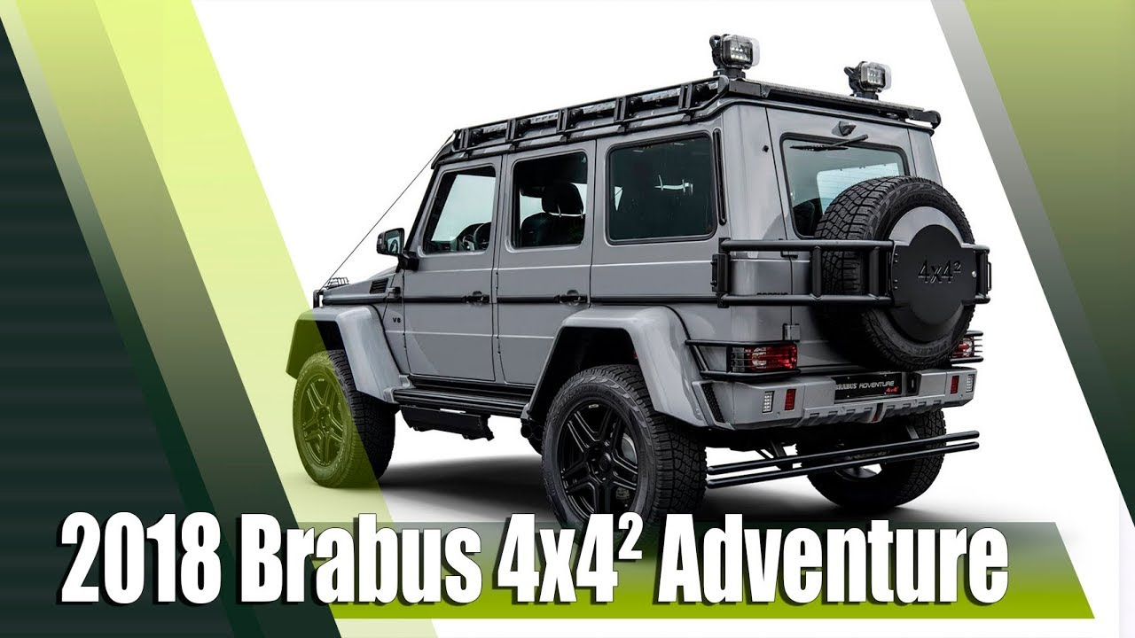 new 2018 brabus g550 4x4 adventure youtube. Black Bedroom Furniture Sets. Home Design Ideas