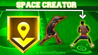 NBA 2K20 SPACE CREATOR BADGE -SPACE CREATOR GOLD BREAKS LOCKDOWNS ANKLES NBA 2K20