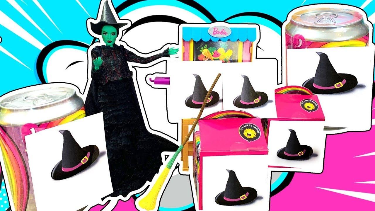 Злая Ведьма открывает Магазин Слаймов! А у Единорожки Пупси пропали Poopsie Slime!