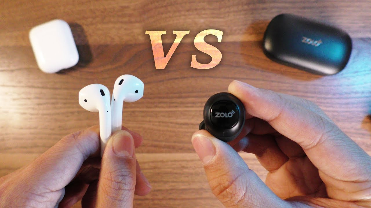 Apple Airpods Vs Anker Zolo Liberty Battle Of The