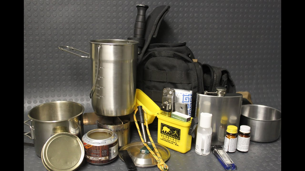 Budget Survival Quality Cook Camp Kit Zrus Youtube