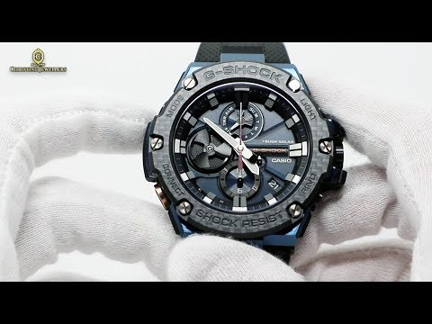 Unboxing 2019 G Shock G Steel Carbon Fiber Bluetooth Connected
