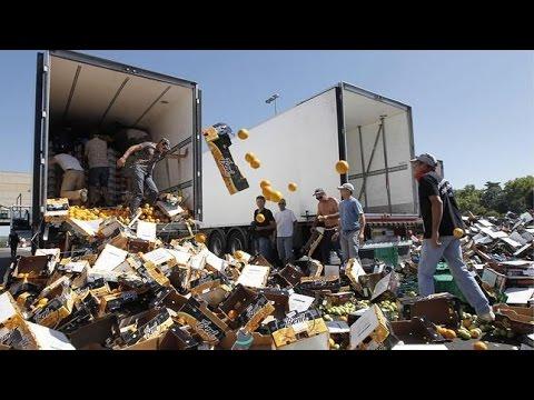 Ataques a camiones españoles