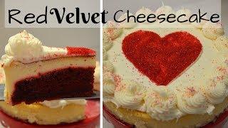 Valentine's Day Dessert I How to make Red Velvet Cheesecake