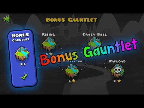 how to get the lost gauntlets geometry dash