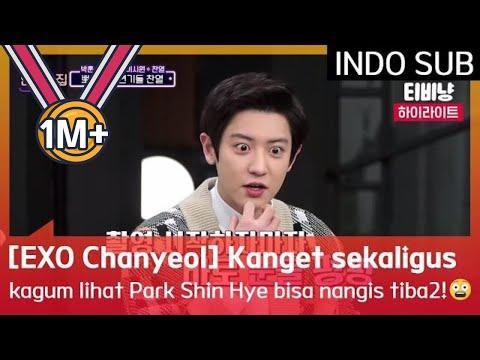 [EXO Chanyeol] Kaget Sekaligus Kagum Lihat Park Shin Hye Bisa Nangis Tiba2!