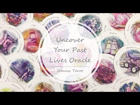 開箱  揭開前世今生原型神諭卡 • Uncover Your Past Lives Oracle  // Nanna Tarot