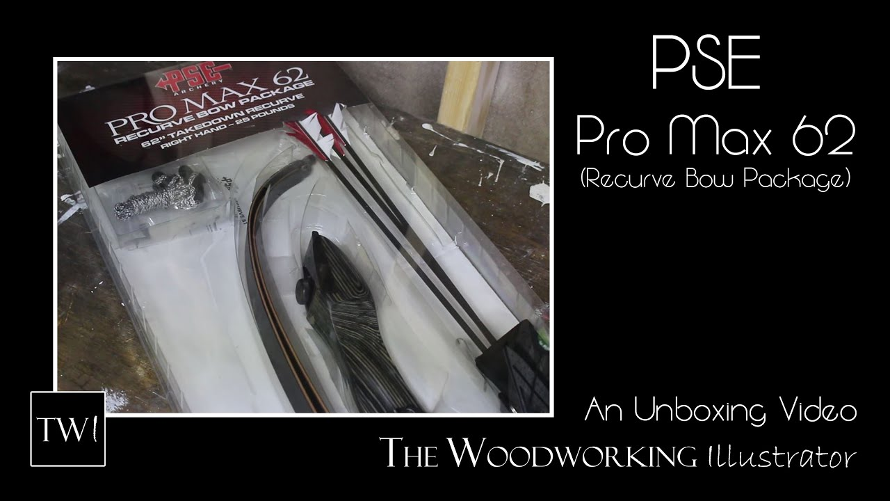 """PSE Pro Max 62/"""" Right Hand 25# Recurve Package"""