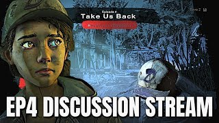 "The Walking Dead:Season 4: ""The Final Season"" Episode 4 ""Take Us Back"" Discussion Stream"