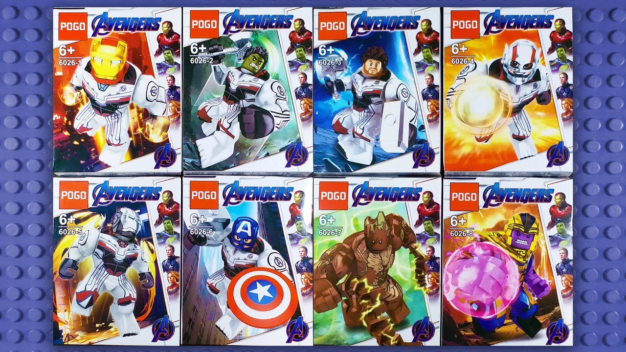 G3 Hulk Avengers End Game Giants Big Size Custom Figure Gashapon LEGO Nuovo