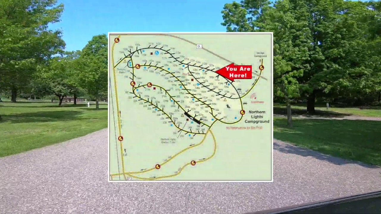 devils lake campground map Northern Lights Campground Devil S Lake State Park Area devils lake campground map