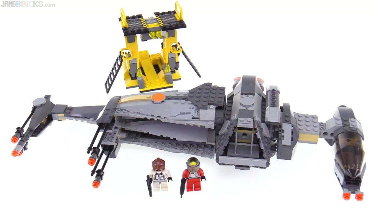 Lego Star Wars B Wing Fighter From 2006 Reviewed 6208 Youtube
