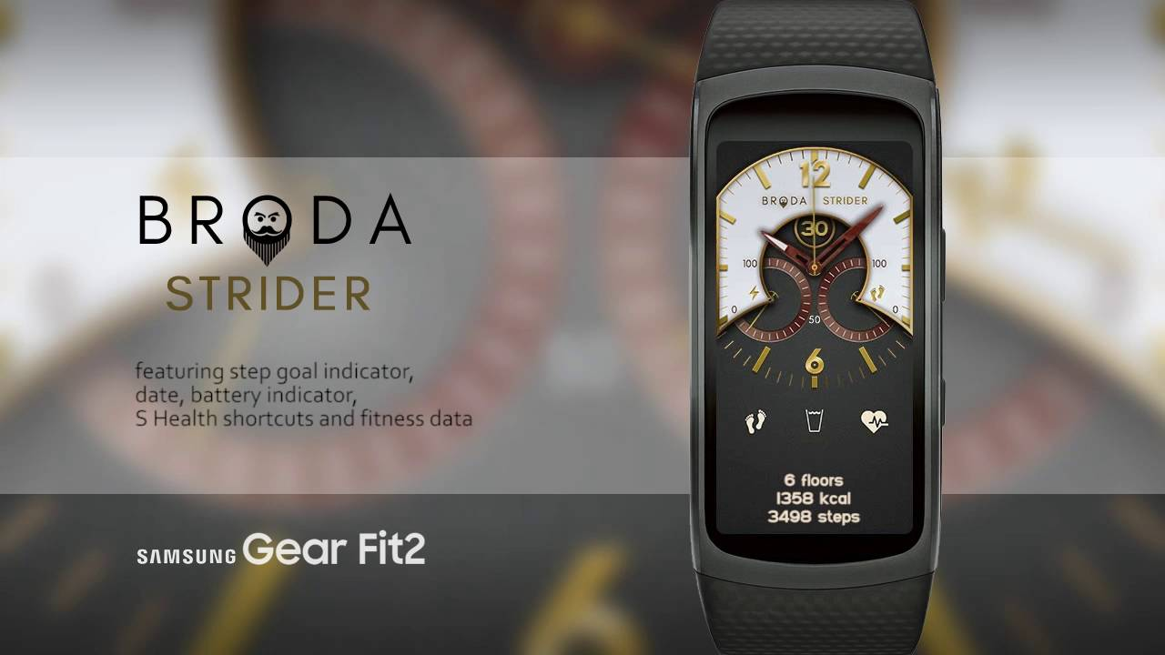 how to make gear fit 2 watch faces