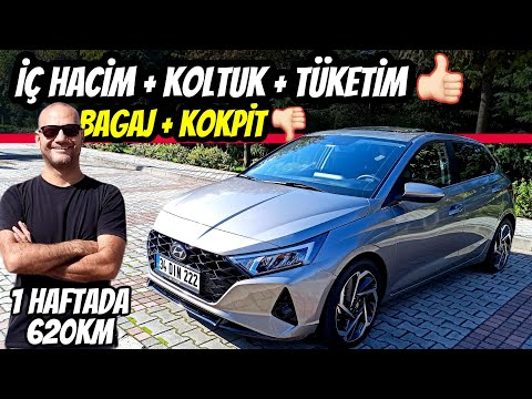SÖYLEMEDEN OLMAZ   Yeni Hyundai i20 1.0 T-GDI DCT   1 hafta 620km test