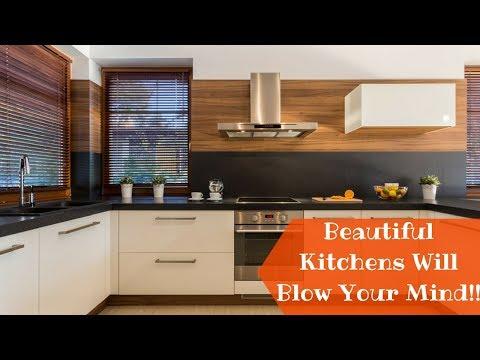 Beautiful Modern Kitchen Design Ideas 2018- Plan n Design