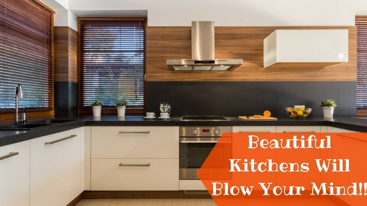 beautiful modern kitchen design ideas 2018- plan n design - youtube