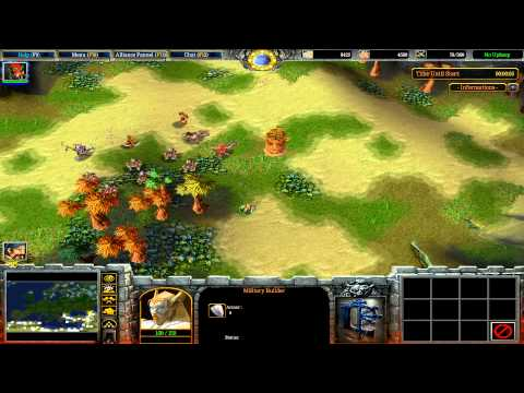 Warcraft III: TFT - (CUSTOM) 99 - Lords of Europe Balanced 5.4 - Já vás všechny vyhladim