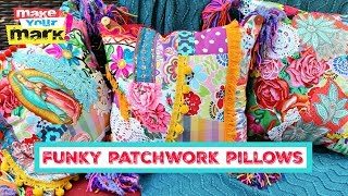 Funky Patchwork Pillows