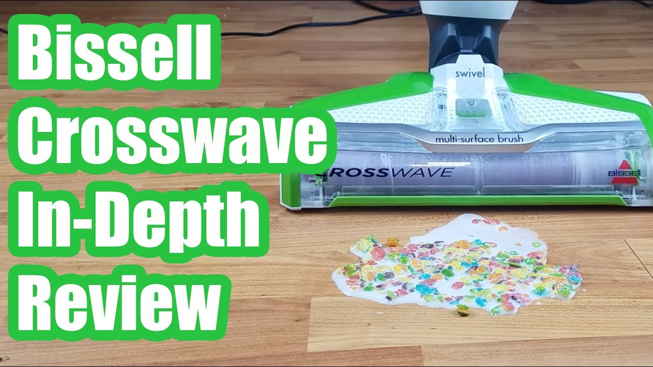 Bissell Crosswave Review Test Results 2018