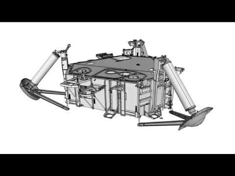 Viking Lander Leg Animation