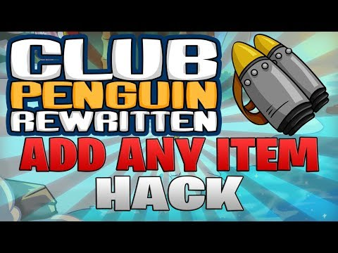 Add Any Item Hack - Club Penguin Rewritten Exploiting (CPR Or Any CPPS)