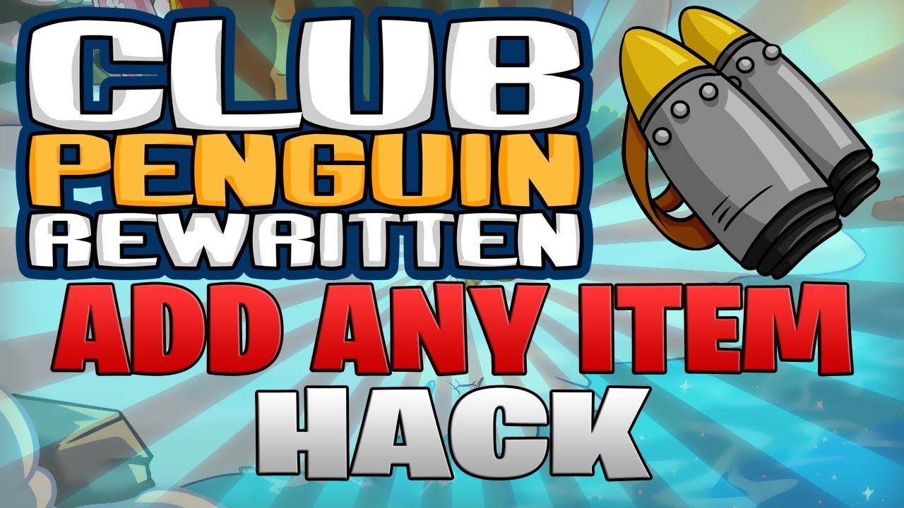 Image result for club penguin rewritten hack