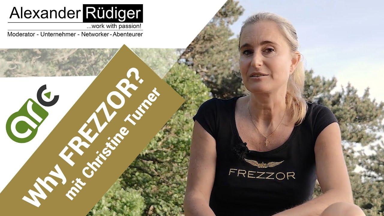 Christine Turner Why Frezzor Teampartner Visitenkarte Deutsch Englisch