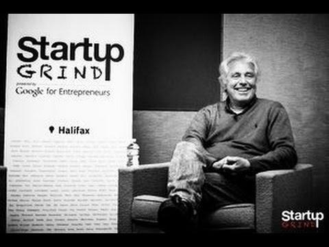 Toon Nagtegaal (GrowthWorks) at Startup Grind Halifax by Oleg Lights