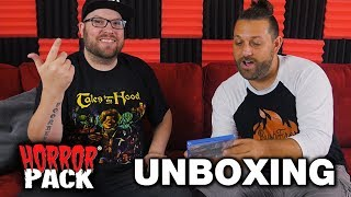 July Horror Pack Unboxing! - Subscription Box