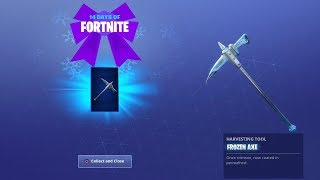 HOW TO GET FROZEN PICKAXE FREE | 14 Days of Fortnite DAY 11 Challenge FREE!