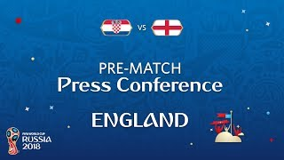 2018 FIFA World Cup Russia™ - CRO vs ENG - England Pre-Match Press Conference