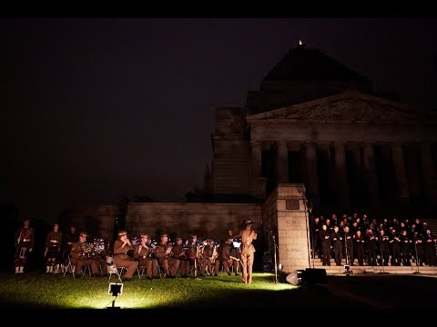 2018 Dawn Service - Shrine of Remembrance