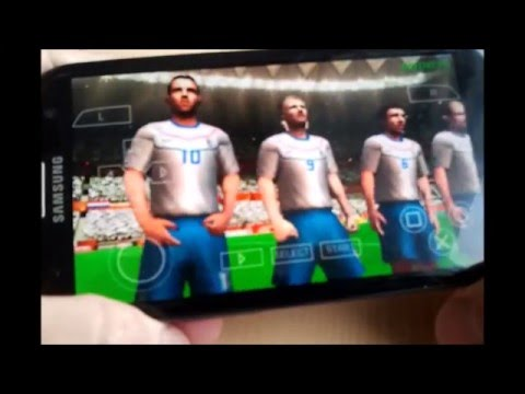2010 Fifa World Cup South Africa Android (PPSSPP)