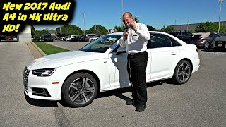 2017 audi a4 test drive walkaround and review in 4k ultra hd by john d villarreal