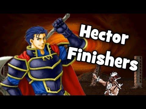 Fire Emblem x Mortal Kombat - Hector's Finishers