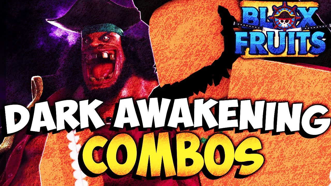 The Best Dark Awakening Combo's - BLOX FRUITS