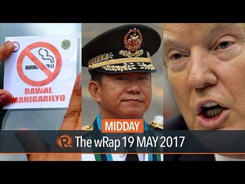 Smoking ban, Ano, Trump | Midday wRap