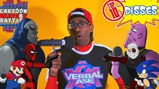 Top 10 Disses In Cartoon Beatbox Battles