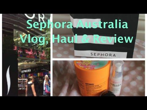 Sephora Australia Vlog, Haul And Review