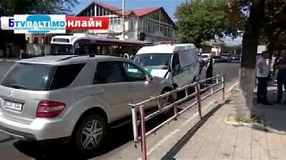 Скачать Три автомобиля пострадало в масштабном ДТП в Бельцах 20 08 18